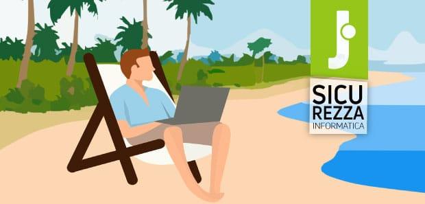 5 consigli per non perdere i dati aziendali durante le vacanze estive
