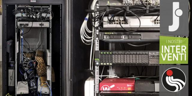 Intervento Jump: da computer con dati condivisi a server virtualizzato