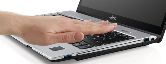 Fujitsu Palm Secure ID login