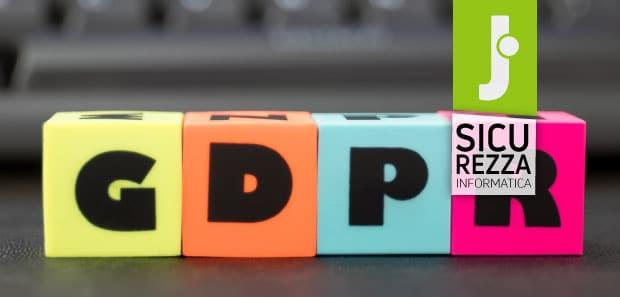 Scadenza GDPR