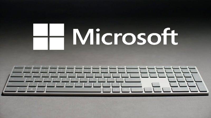 Tastiera Microsoft con riconoscimento delle impronte digitali