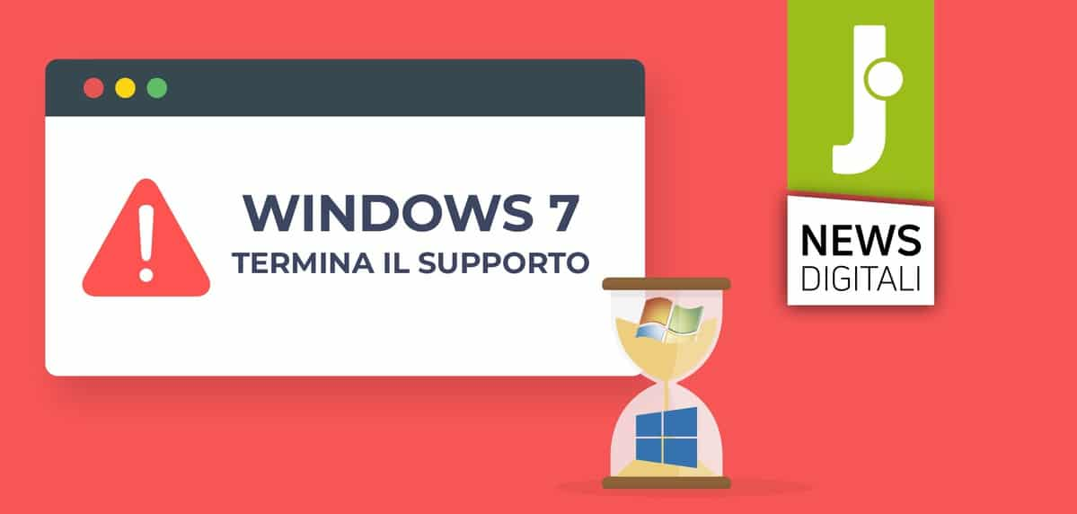 Windows 7, Microsoft termina il supporto cosa fare
