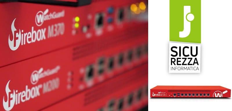 Disponibile il firewall WatchGuard Firebox M370