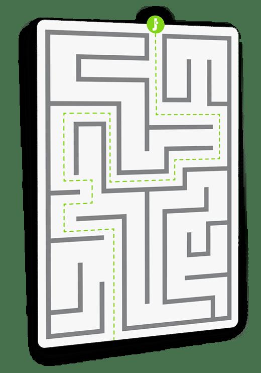 Labirinto slide homepage Jump Computer