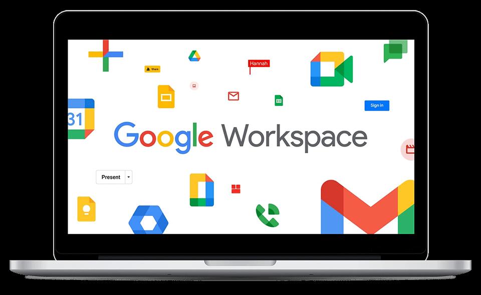 schermata google workspace